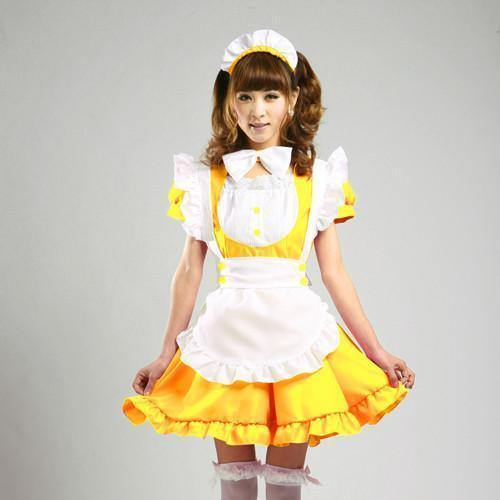 Maid Waitress Costumes - Ms011
