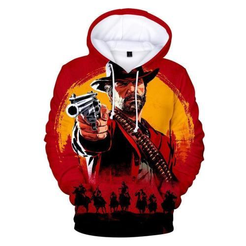 Game Red Dead Redemption 2 Cosplay Hoodies Sweatshirts
