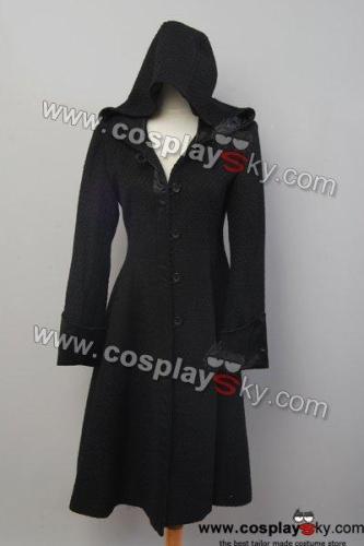 Twilight Eclipse Volturi Jane Black Dress Coat Costume