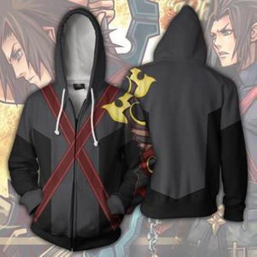 Kingdom Hearts Hoodie - Terra Zip Up Hoodie Csos305