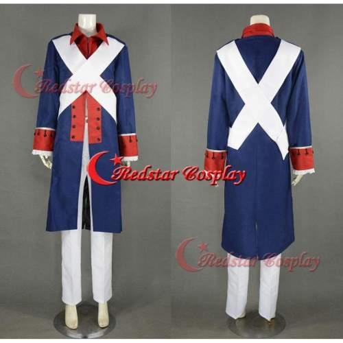 Axis Powers Hetalia Aph Coslay American Revolutionary War Cosplay Costume