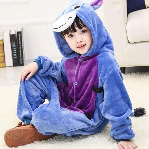 Child Romper Cute Little Donkey Costume For Kids Onesie Pajamas For Girls Boys