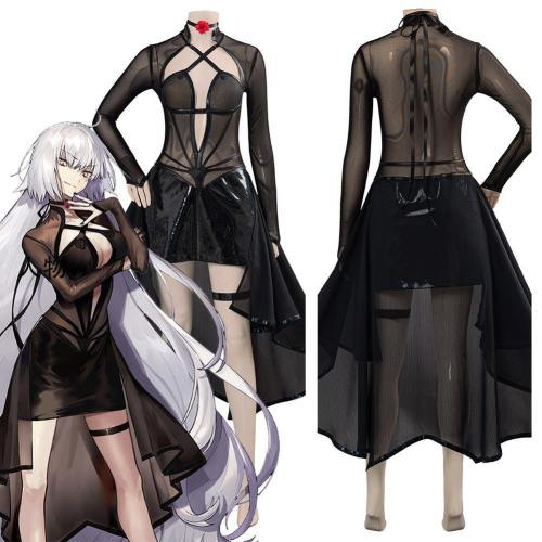 Game Fate/Grand Order Jeanne D'Arc Alter (J'Alter) Women Girls Outfit Halloween Carnival Costume Cosplay Costume