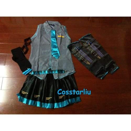 Vocaloid Miku Hatsune Miku Cosplay Costume