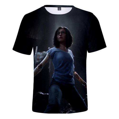 Alita T-Shirt - Battle Angel Graphic T-Shirt Csos983