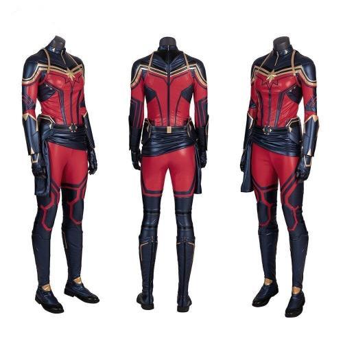 Captain Marvel Cosplay Halloween Costumes For Women Avengers 4 Carol Danvers Superhero Customize