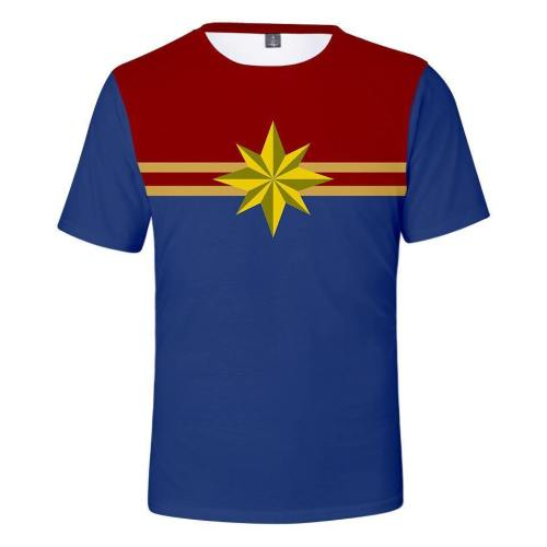 Captain Marvel T-Shirt - Carol Danvers Graphic T-Shirt Csos926