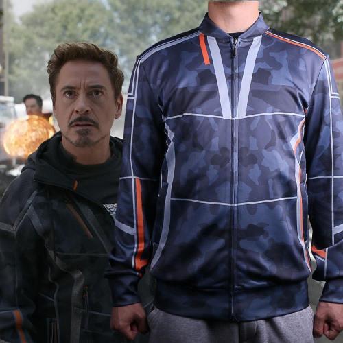 Avengers Infinity War Iron Man Cosplay Tony Stark  Baseball Coat