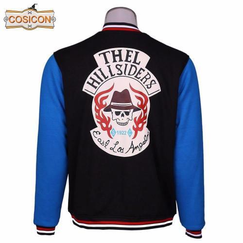 Suicide Squad Chato Santana Joker Jacket  Baseball Coat Cosplay Costumes