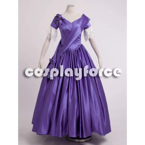 The Young Victoria Film Queen Victoria Cosplay Costume mp002521