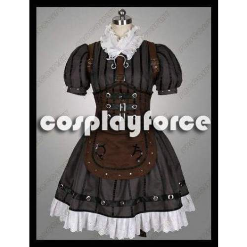 Alice: Madness Returns Alice Steamdress Cosplay Costumes