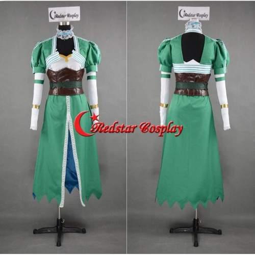 Sword Art Online Alfheim Online Leafa Lyfa Cosplay Costume Custom In Any Size
