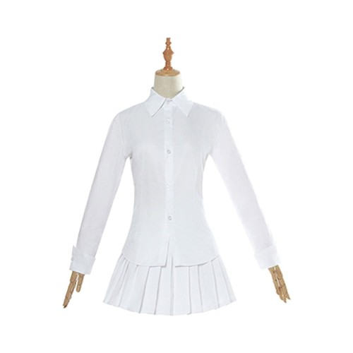 Anime The Promised Neverland Emma Cosplay Costume