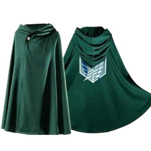 Anime Shingeki no Kyojin Cloak Cape Clothe cosplay Attack on Titan 160-185cm