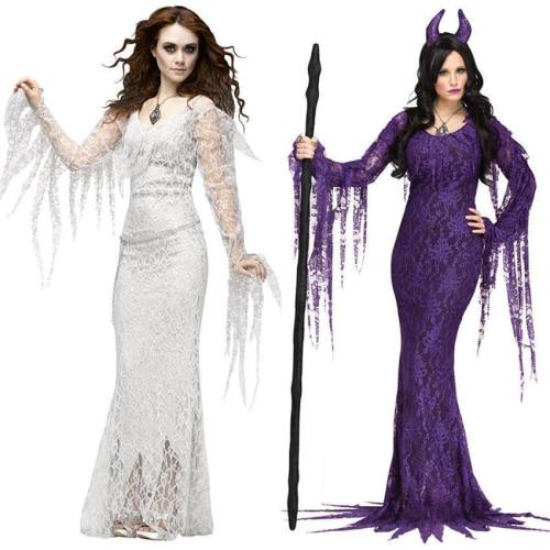 Demon Disfraz Dress Scary Costumes Vampire Bride Horror Cosplay