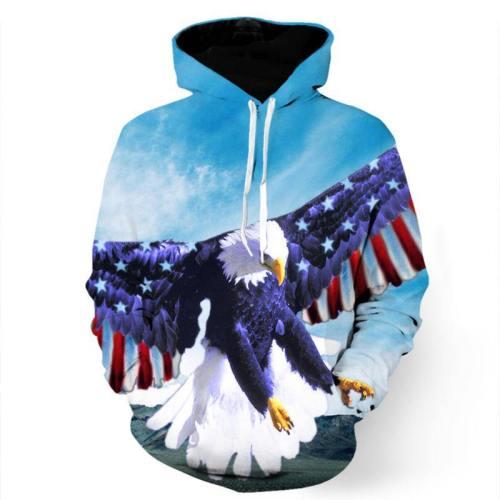Sky High American Eagle Sweatshirt/Hoodie