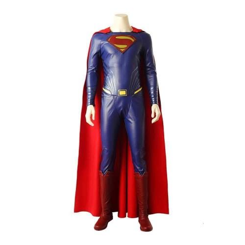 Superman Clark Kent Costume Dc Movie Justice League Halloween Cosplay Suit