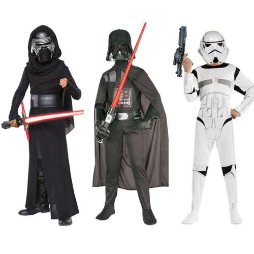 New Arrival Star War Storm Trooper Darth Vader(Anakin Skywalker) Children Cosplay Party Costume Clothing Cape And Mask
