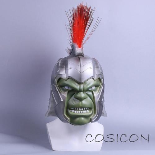 Thor 3 Ragnarok Hulk Cosplay Helmet Kids Halloween Mask