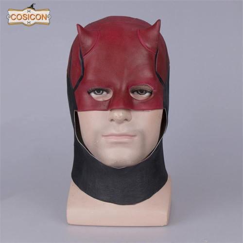 Daredevil Mask Matt Murdock Cosplay Costume Prop Mask