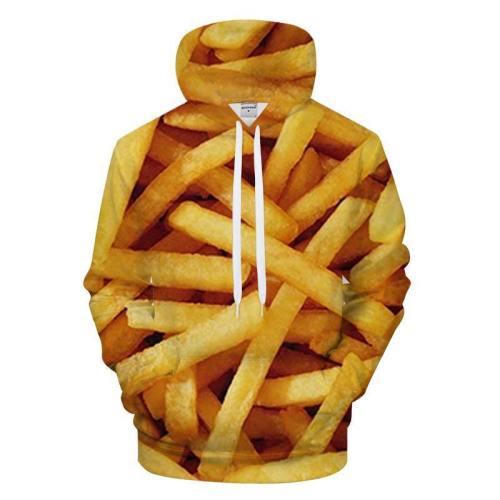 French Fries 3D - Sweatshirt, Hoodie, Pullover