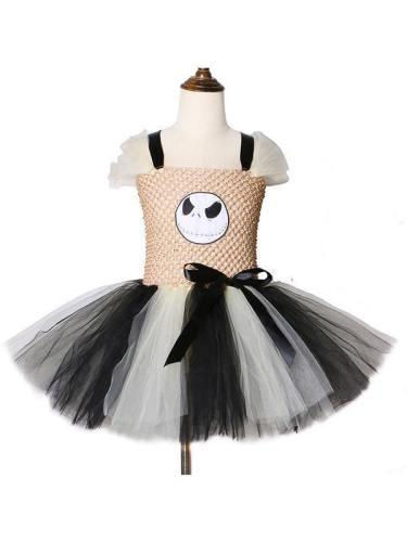 Jack Skellington Tutu Dress Girls Nightmare Before Christmas Costumes