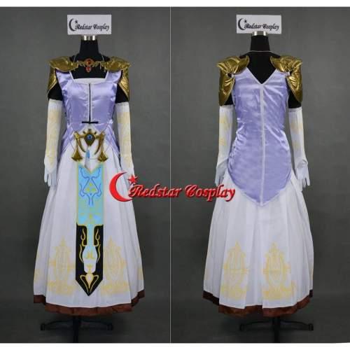 The Legend Of Zelda Princess Zelda Cosplay Costume Custom In Any Size
