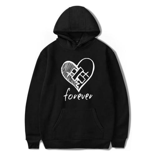 Unisex Broken Heart Xxxtentacion Printed Hoodie Sweatshirt