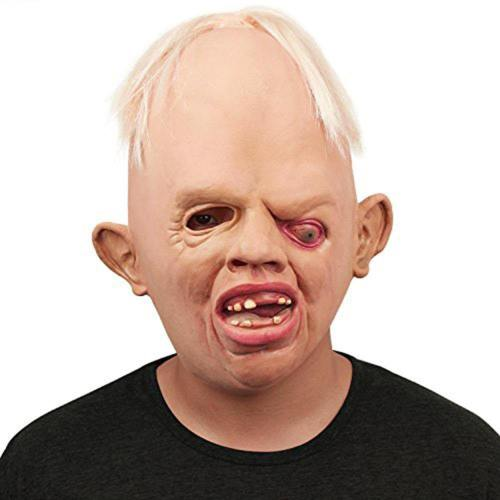 Horrible Monster Adult Latex Masks Full Face Breathable Halloween Scary Mask Fancy Dress Party Cosplay Costume For Festival