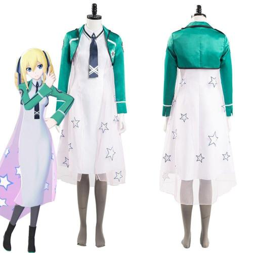 The Irregular At Magic High School Angelina Kudou Shields Women Dress Outfits Halloween Carnival Suit Cosplay Costume