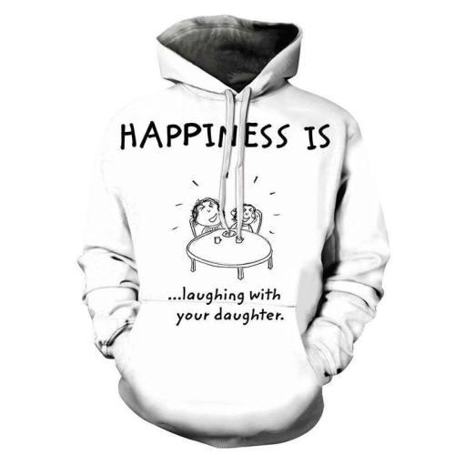Happiness Is Mother Love 3D - Sweatshirt, Hoodie, Pullover