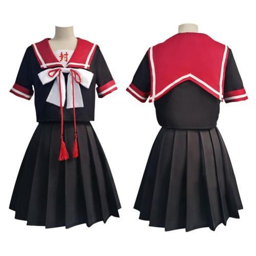 Toilet-Bound Hanako-Kun Yugi Tsukasa Jk Uniform Skirt Outfits Halloween Carnival Suit Cosplay Costume