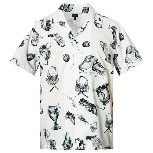 Men'S Hawaiian Shirts Sports Printed