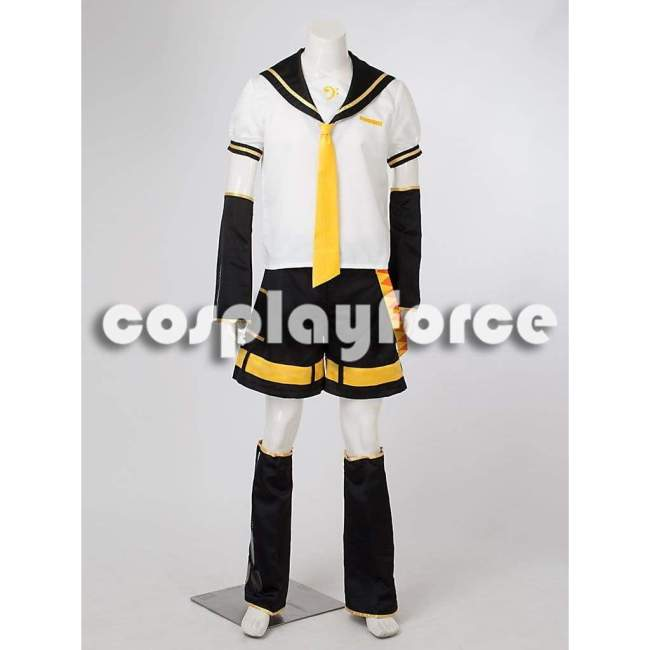 Vocaloid Kagamine Len Cosplay Costumes Outfits mp000480