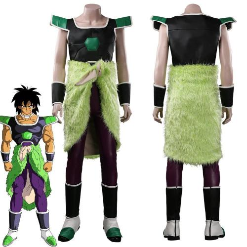 Dragon Ball Super-Broli Outfits Halloween Carnival Suit Cosplay Costume