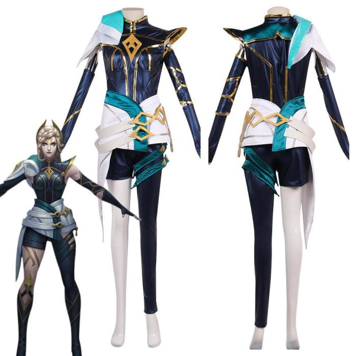 League Of Legends Lol Irelia The Blade Dancer Outfits Halloween Carnival Suit Cosplay Costume