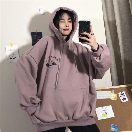 Alaska Cruise Sweatshirt Thick Pullover Tops Long Sleeve Harajuku Woman Hoodie