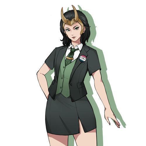Pre-Sale  Tv Loki Loki Outfit Female Version Halloween Carnival Suit Cosplay Costume