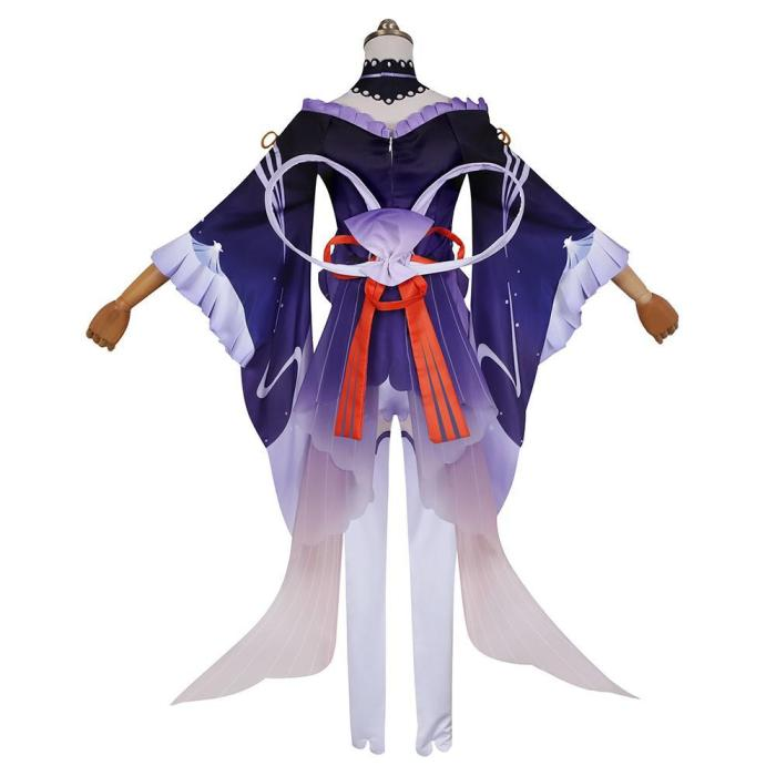 Genshin Impact Sangonomiya Kokomi Outfits Halloween Carnival Suit Cosplay Costume