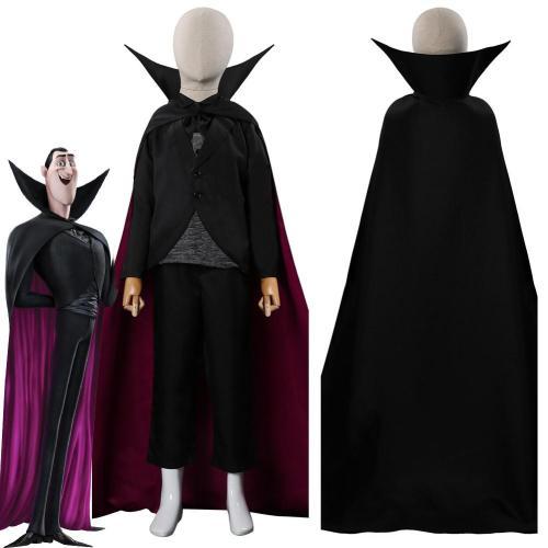 Kids Children El Transylvania 4 Dracula Outfits Halloween Carnival Suit Cosplay Costume
