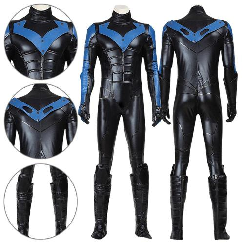 Nightwing Batman Arkham City Cosplay Costume
