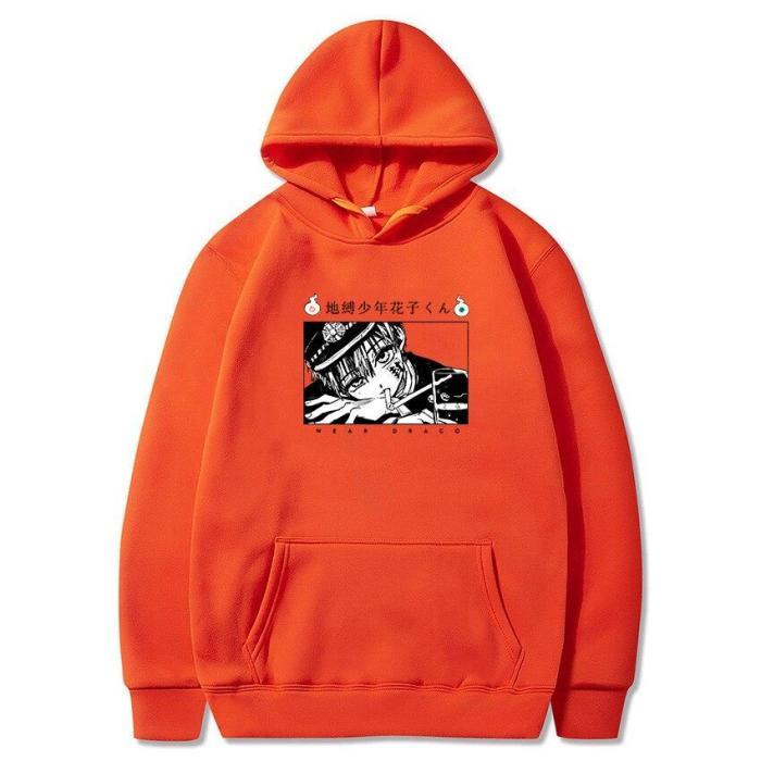 Toilet Bound Hanako Kun Anime Hoodie Oversize Sweatshirts Harajuku Casual Cute Hip Hop Gothic