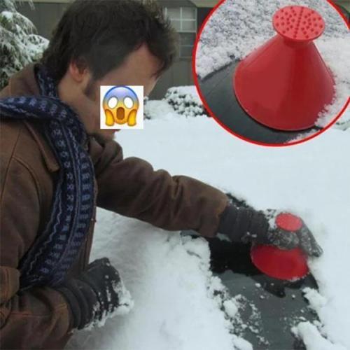 Multifunctional Automotive Glass Snow Remover Car Ice Scraper