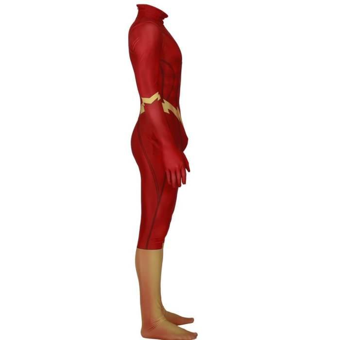 The Flash Zentai Bodysuit Suit Jumpsuit Halloween Cosplay Costume