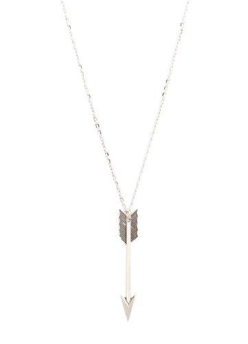 Last S Steel Necklace