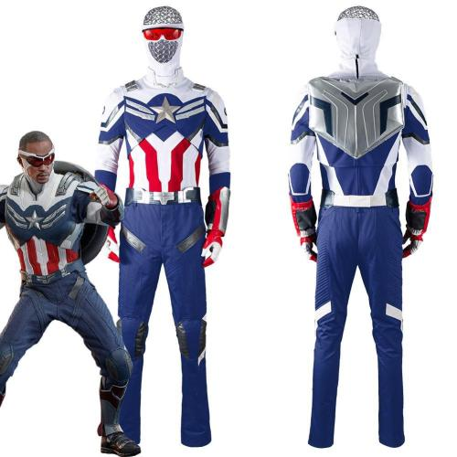 The Falcon And The Winter Soldier -The Falcon Outfits Halloween Carnival Suit Cosplay Costume