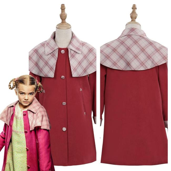 The Mysterious Benedict Society-Constance Contraire Costume For Kids Children Halloween Carnival Cosplay Costume
