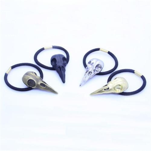 Crow Skull Hair Band