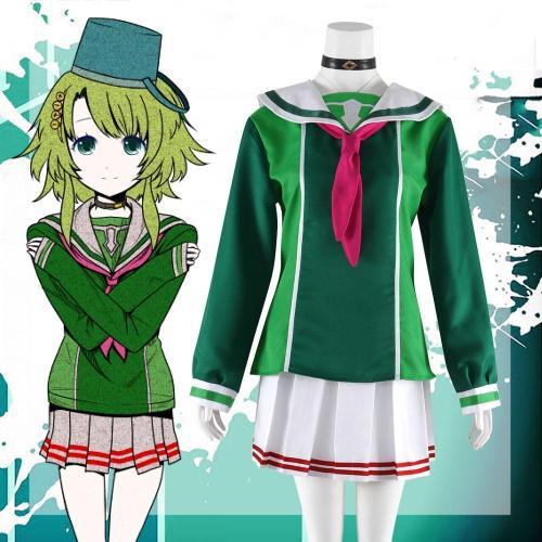 Your Turn To Die Kanna Kizuchi Halloween Cosplay Costume