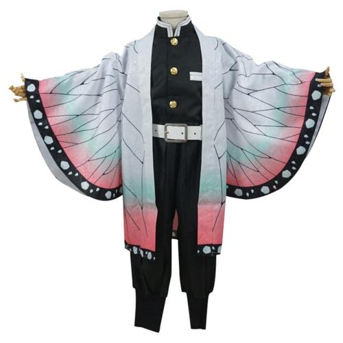 Anime Demon Slayer Kochou Shinobu Kids Children Uniform Outfits Cosplay Custome